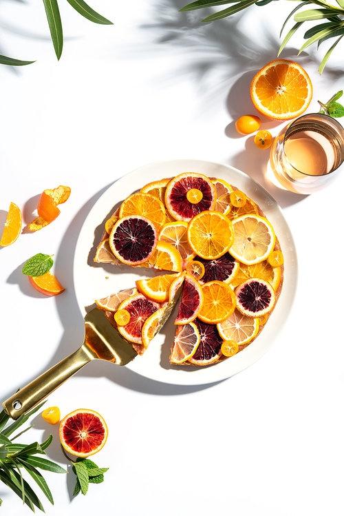 Orange Cake Photo